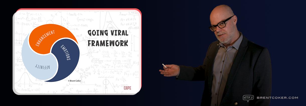 Dr Brent Coker Going Viral Framework
