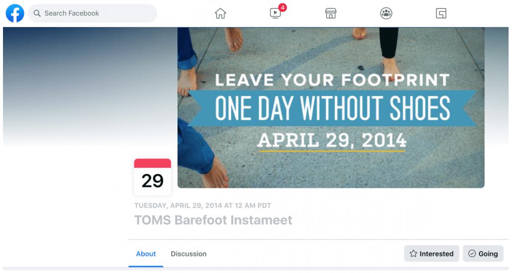 TOMS Barefood Instameet