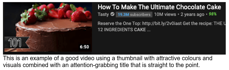 YouTube thumbnail and title