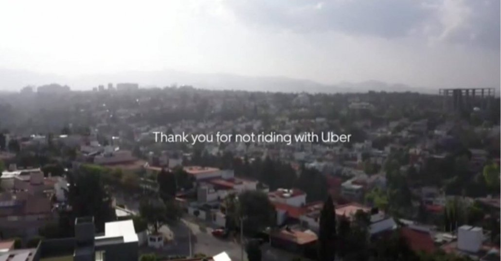 Out of the Box Uber ad