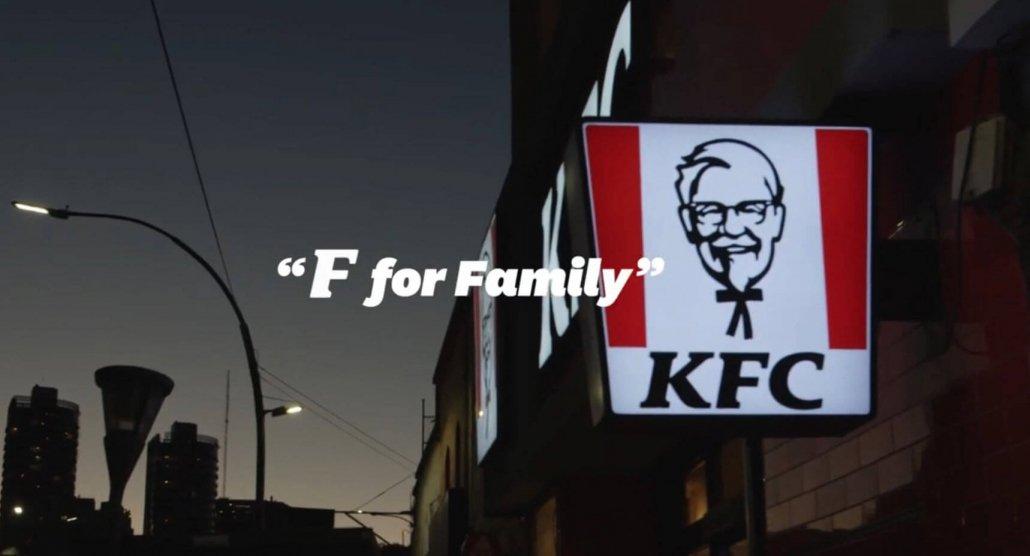 Sharing is Caring KFC ad