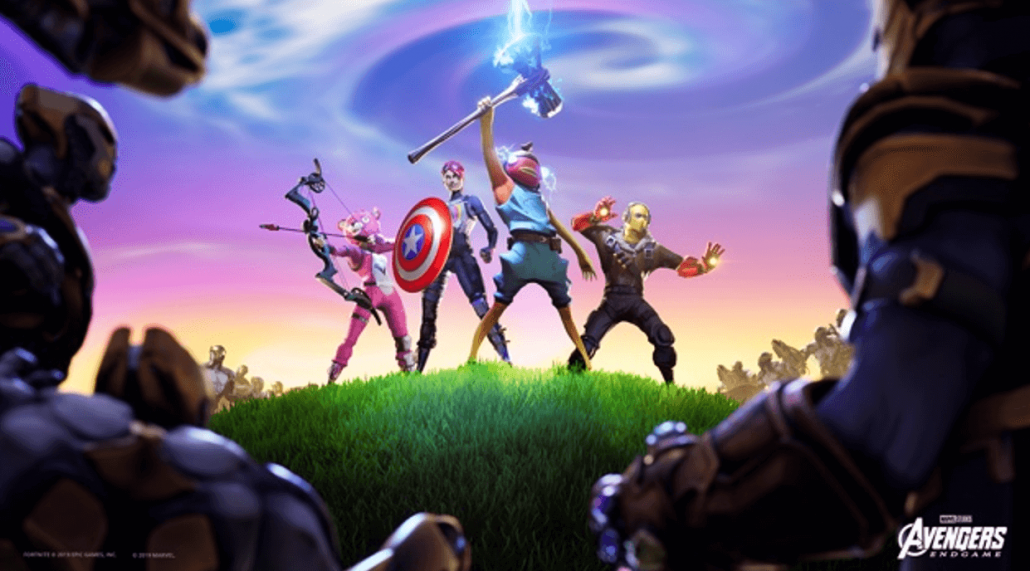 New Marvel Weapons and Skins in Fortnite - Source Epic Games