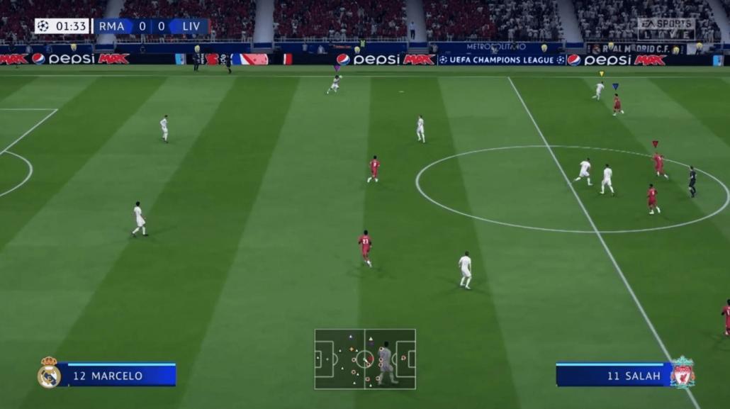 Pepsi Max Advertising in EA Sports' FIFA 20 (Screenshot) - Source EA Sports – FIFA 20