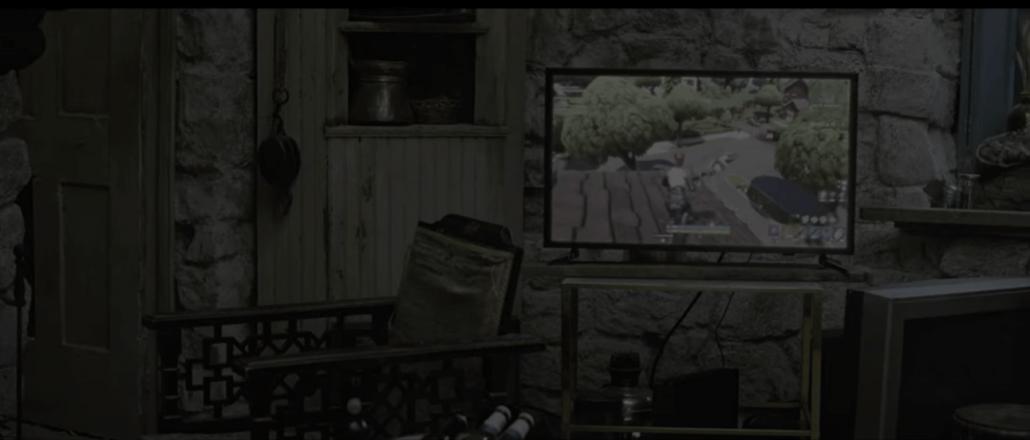 Screenshot of Fortnite Scene in Avengers Endgame - Source Marvel Studios