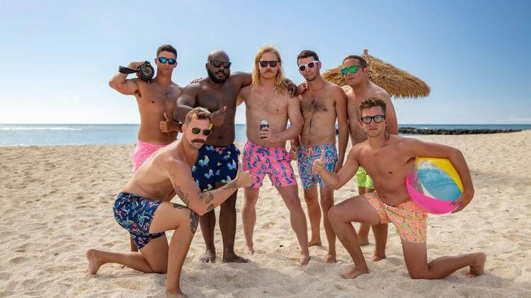 chubbies influencer campaign